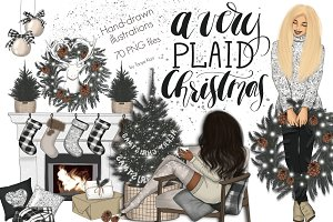 A Very Plaid Christmas Design Kit