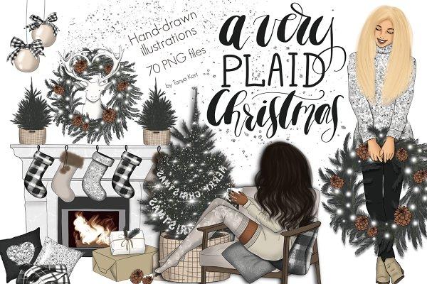 A Very Plaid Christmas Design Kit