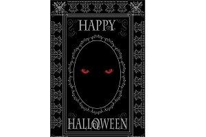 Happy Halloween Demons eyes