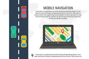Poster of computer navigation system