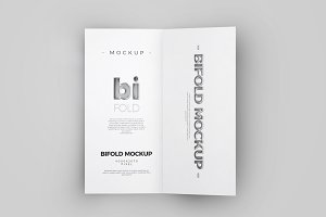 Bi-Fold DL Brochure Mock-up 1