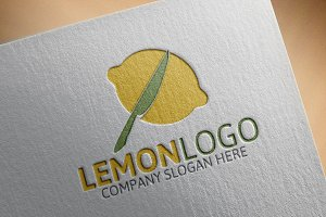 Lemon Logo Template