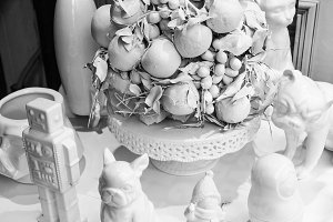 Decoration Objects in White