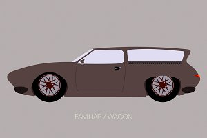 wagon classical car