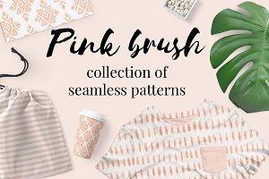 Pink brush