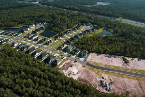 Aerial view of Yulee Florida