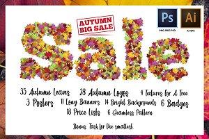 Big autumn sale set