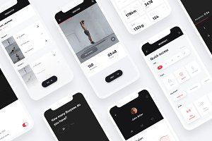 Workout App UI