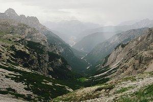 Beautiful landscapes of Italian Dolo