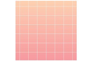 Pink gradient background with grid