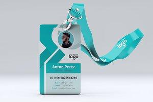 Creative Vector ID Card Design