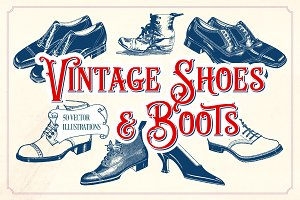 Vintage Shoes and Boots