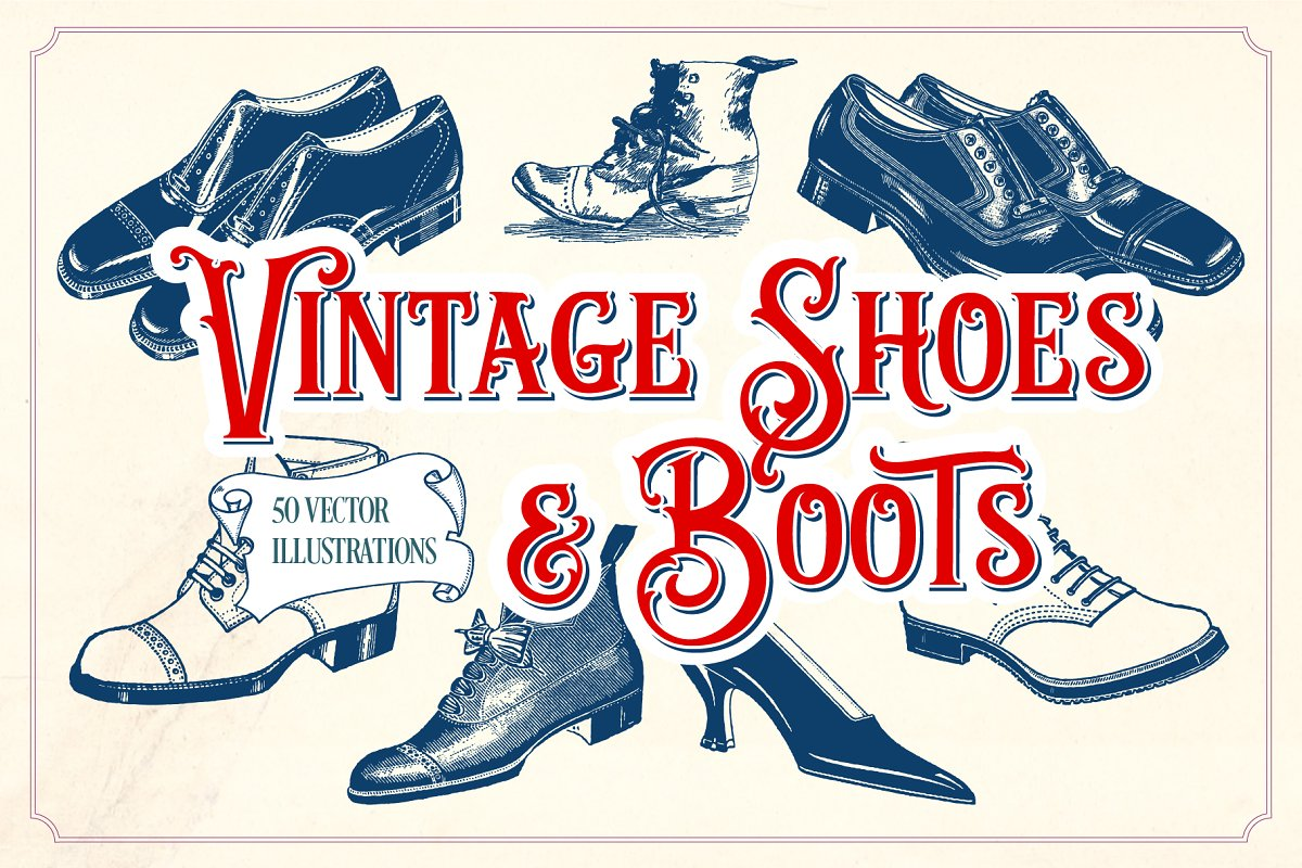 4865cfaff549b Vintage Fonts Some Have A Thing For Shoes I Have A - Pixels1st.com