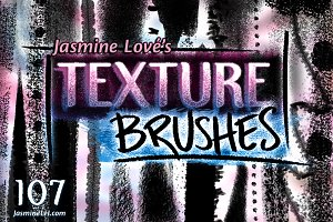 Texture Brushes for Photoshop