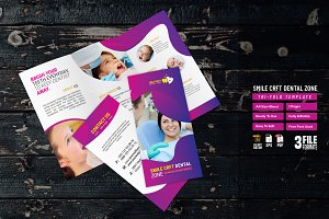 Smile Crft Dental Zone Tri-Fold