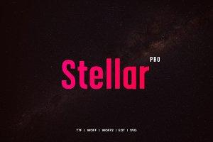 Stellar - Typeface + Webfonts