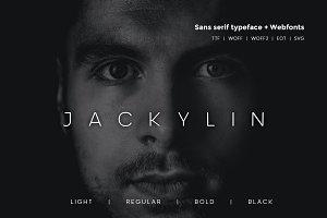Jackylin - Typeface + WebFonts