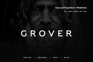 Grover - Typeface + WebFont