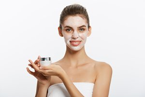 Beauty Youth Skin Care Concept -