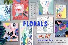FLORALS big bundle 80%OFF