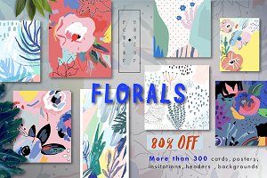 FLORALS big bundle 80%OFF