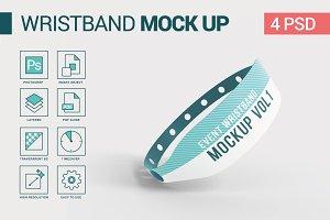 Event Wristband Mockup