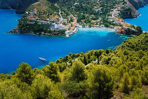 Breathtaking top view to Assos