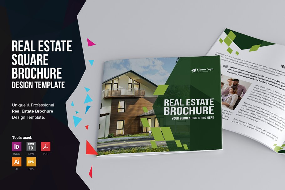 real estate brochure v2 brochure templates creative market.html