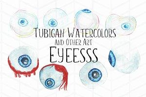 8 Bubbles and Bloodshot Eyeballs