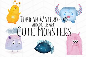 5 Cute Monsters