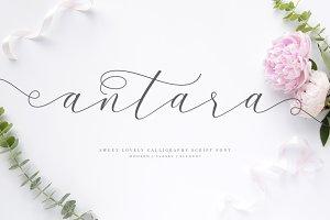 Antara Script Wedding Font