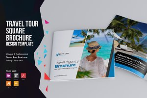 Holiday Travel Square Brochure