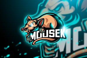 Mousek - Mascot & Esport Logo