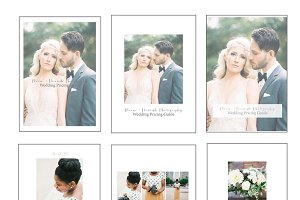 Pricing Template for Photographers