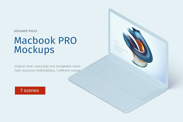 Graphics: TITO - Macbook PRO creative mockup