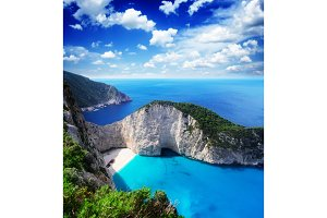 Beautiful lanscape of Zakinthos