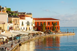 venetian habour of Chania, Crete