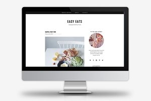 Easy Eats / WordPress Theme
