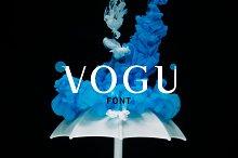 Vogu-Font | With 5 Free Mockups