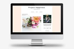 Project Happiness / WordPress Theme