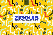 Zigouis Surface Pattern Design by  in Patterns