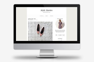 Style Stories / WordPress Theme