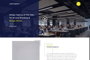 Sketch Creative/Design Agency Theme