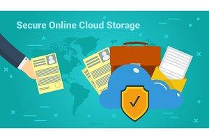 Business Banner - Secure Online
