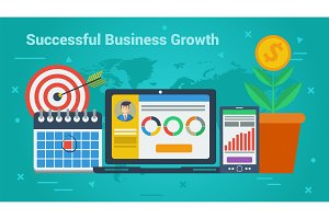 Business Banner - Successful