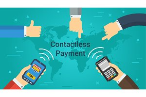 Business Banner - contactless
