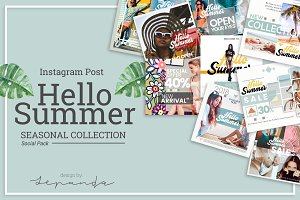 HELLO SUMMER_instagram post