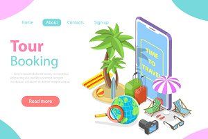 Online tour searching