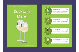 Choose Refreshing Alcohol Beverage