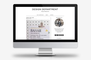 Design Department / WordPress Theme